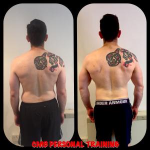 Mark Carmody Back Transformation