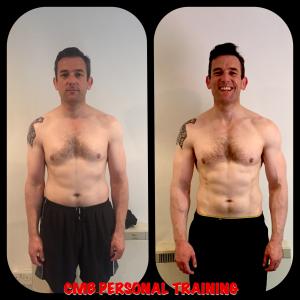 Mark Carmody 12 week transformation