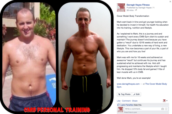 Mark Walsh 16 Week Transformation