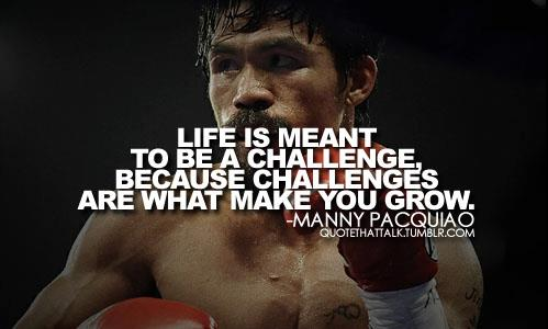 Challenge yourself to be a better you!