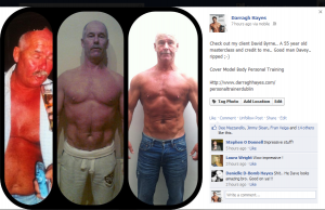 Dave Byrne 3 month Transformation