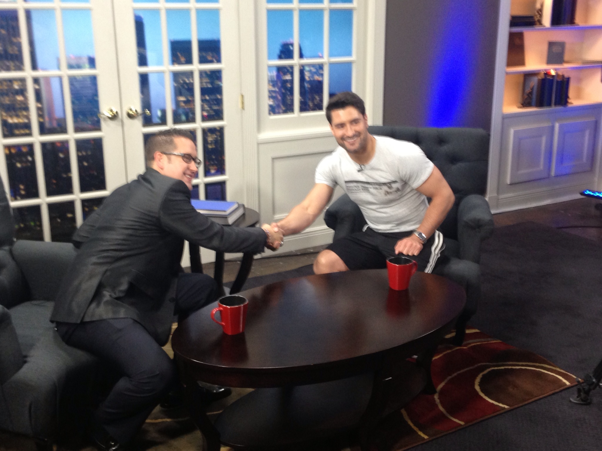 Darragh Hayes Fox TV interview in the USA