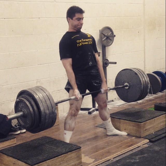 Aswin Deadlifting 220kgs