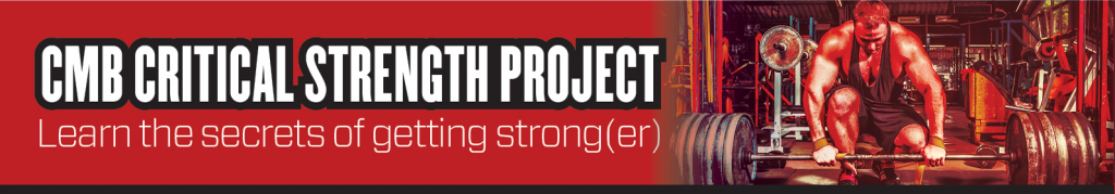 CMB-Critical-Strength-Project
