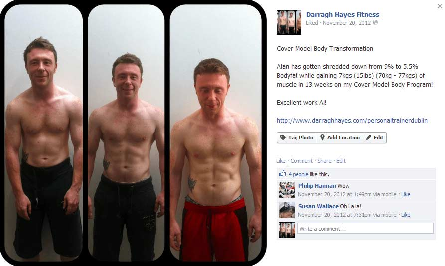 Alan got ripped in 12 weeks!