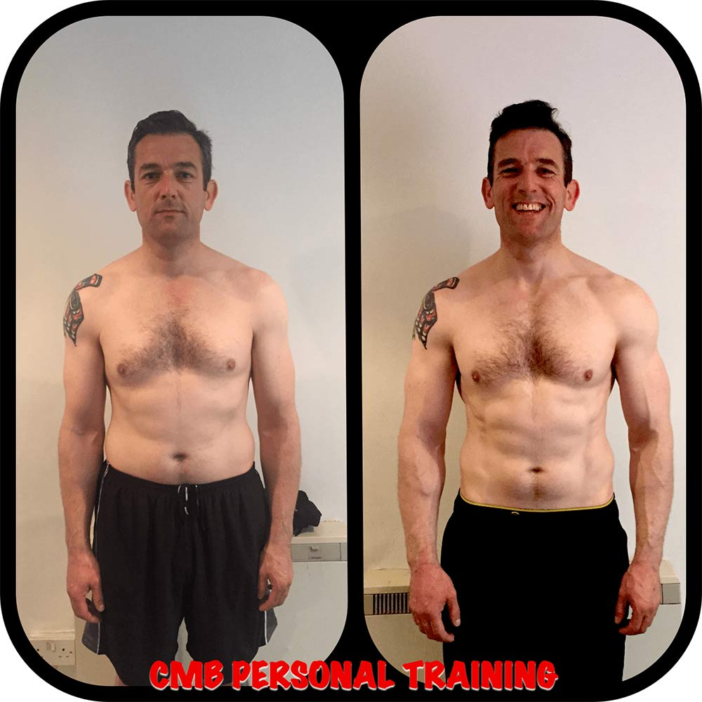 Mark Carmody 12 week transformation
