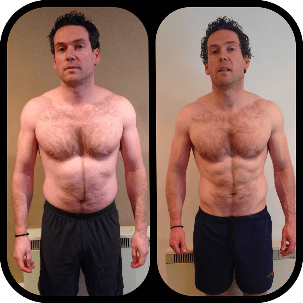 Alan Geraghty 8 Week Transformation