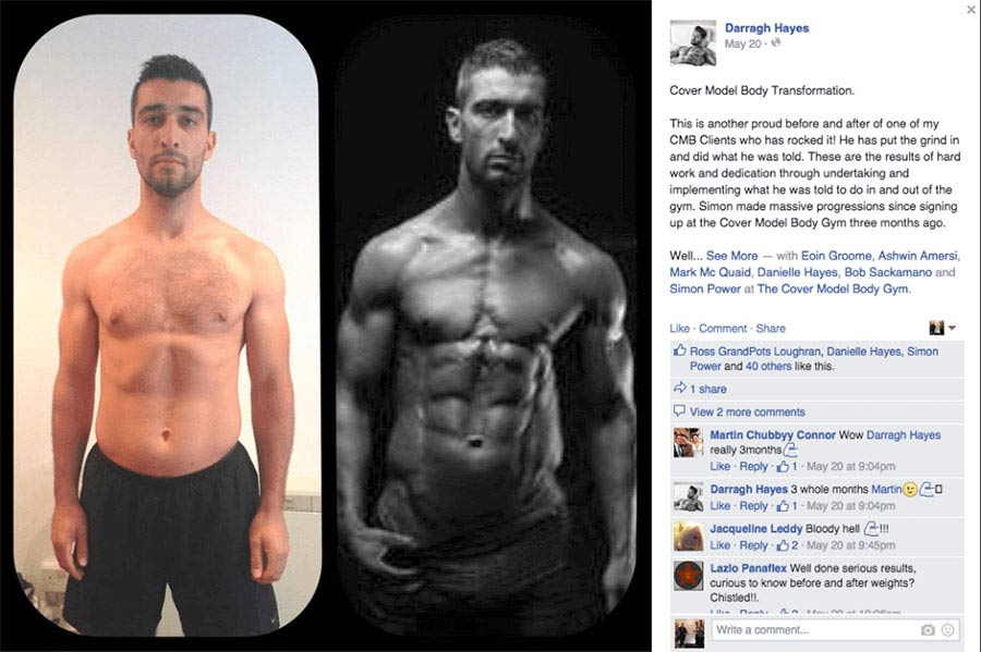 Simon Power 3 Month Transformation